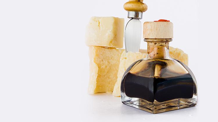 Balsamic Vinegar & Parmesan Cheese Tour
