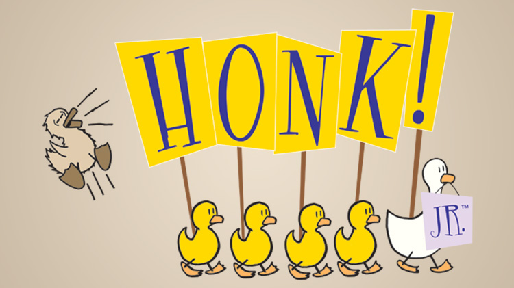 "Auditions for ""Honk!, JR."""