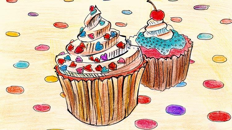SAC No School Day: Cupcakes & Canvas