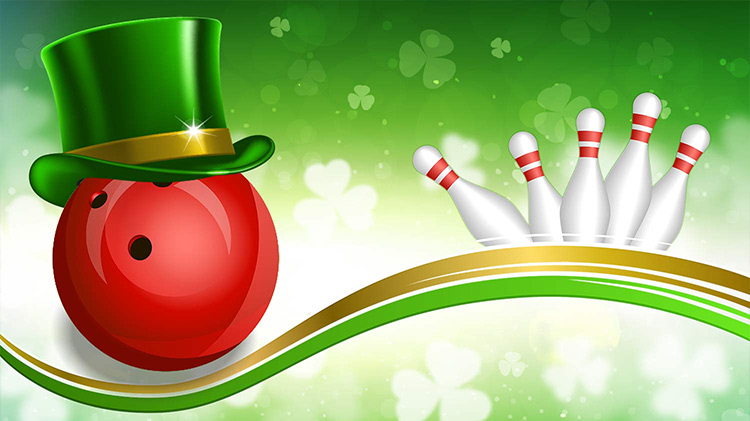 St. Patrick's Day Bowling