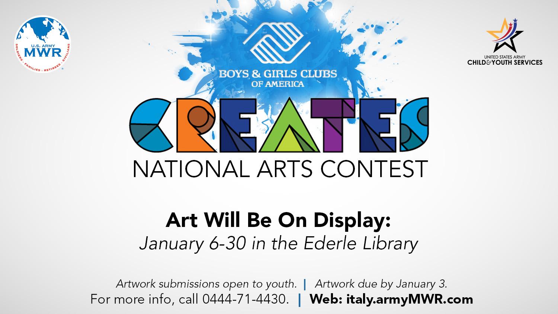 BGCA Art Contest Display