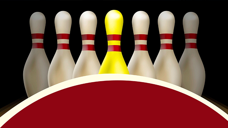 Yellow Pin Bowling