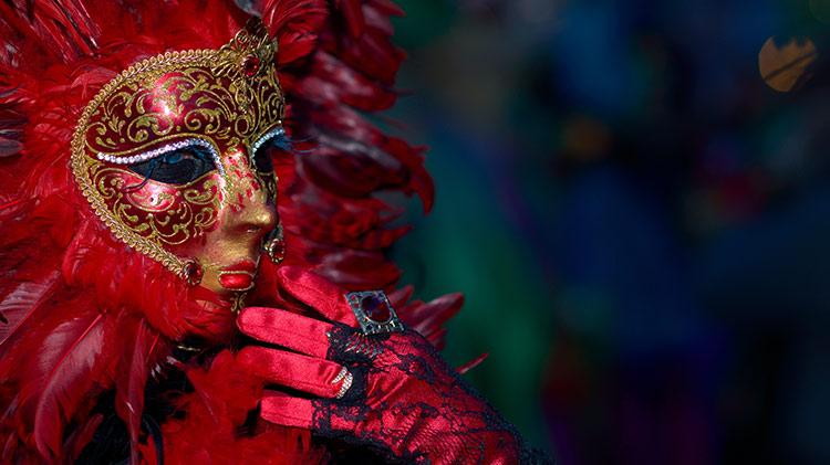 Venice Carnival at Night