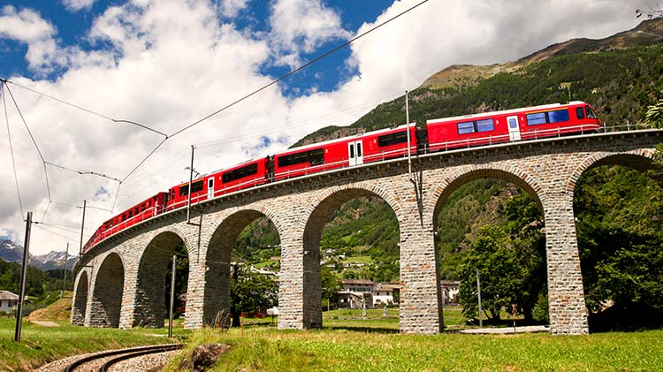 Bernina Express (Switzerland)