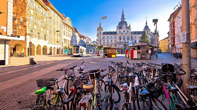 Graz, Austria Express & Street Theatre Festival