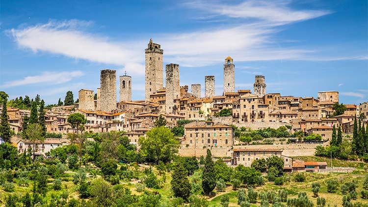Siena and San Gimignano Express