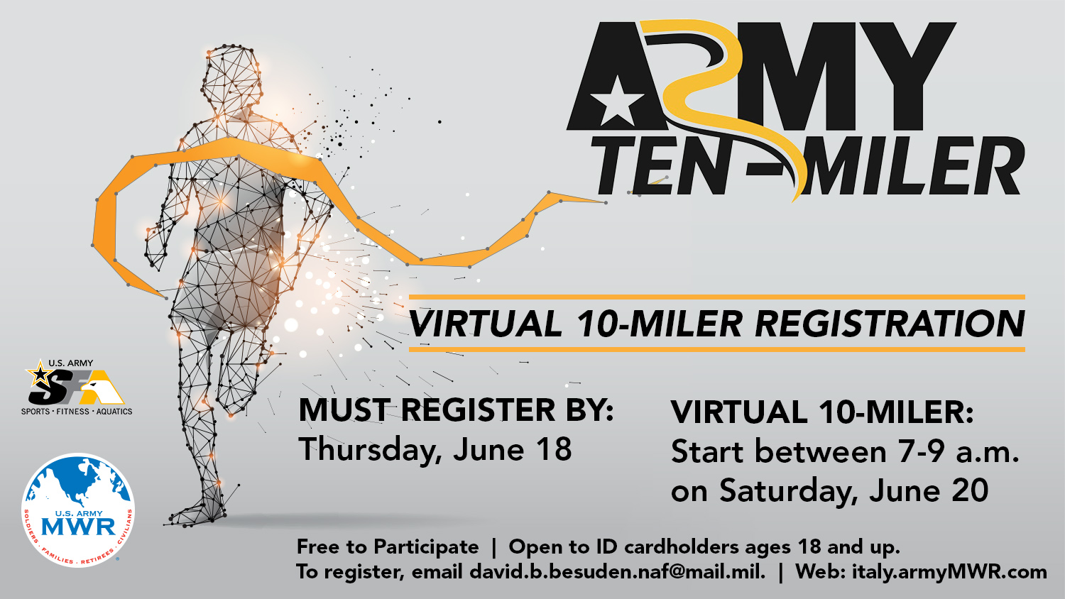 Virtual Army 10-Miler Qualifier