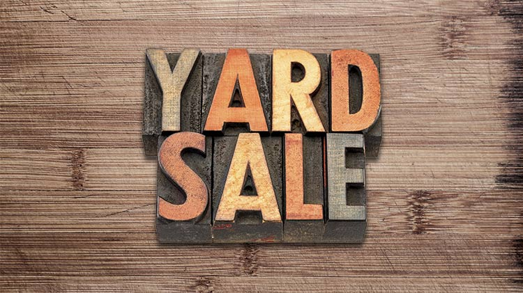 "Darby Casa Toscana NAF ""Yard Sale"""