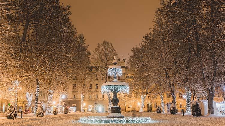 Christmas Market: Zagreb, Croatia