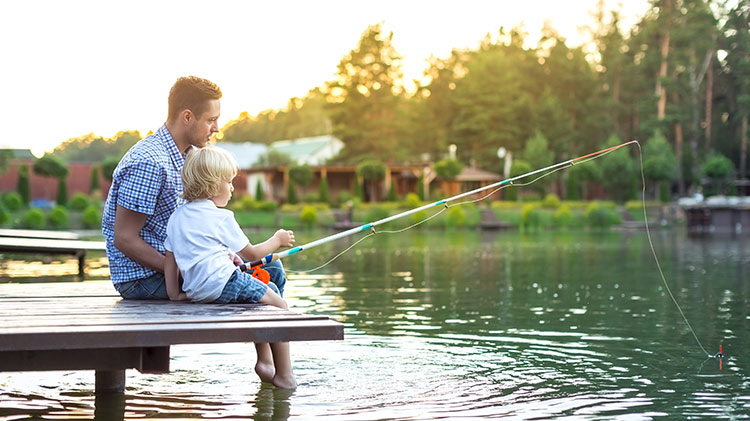 Family Friendly Fishing Trip