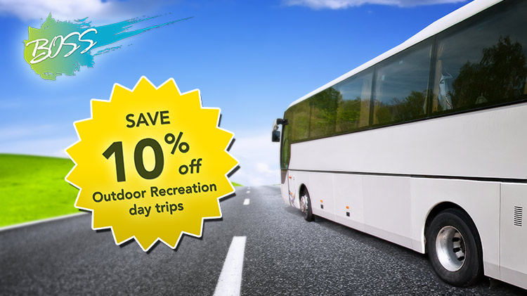 BOSS Discount on ODR Trips