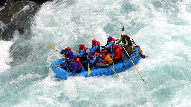 BOSS Whitewater Rafting